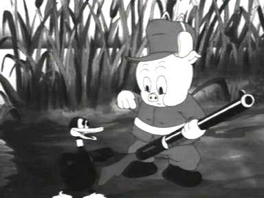 Porky's Duck Hunt still