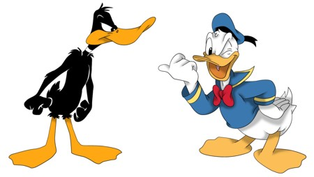 Daffy and Donald - Not Exactly Buds